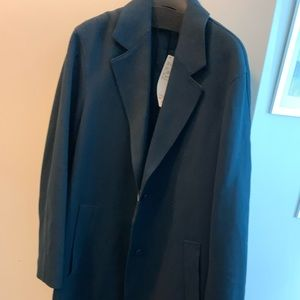 Brand new Uniqlo U trench coat in navy size M